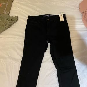 Hollister black jeans, NEVER WORN + TAGS